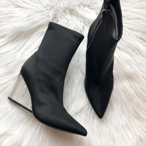 Jeffrey Campbell Shoes - [ nib ] Jeffrey Campbell Siren Wedge Sock Bootie